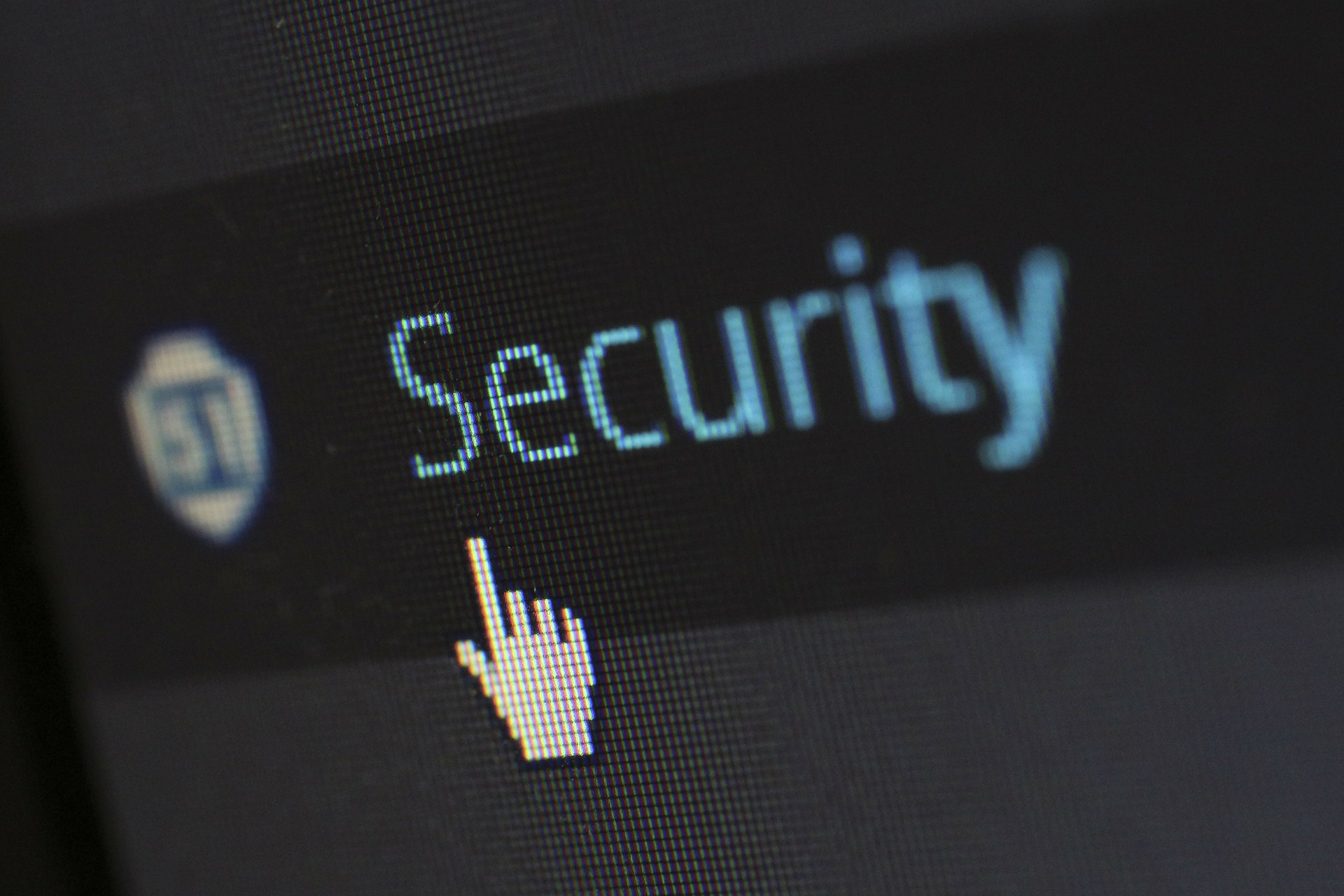 SPI - Security icon on computer screen