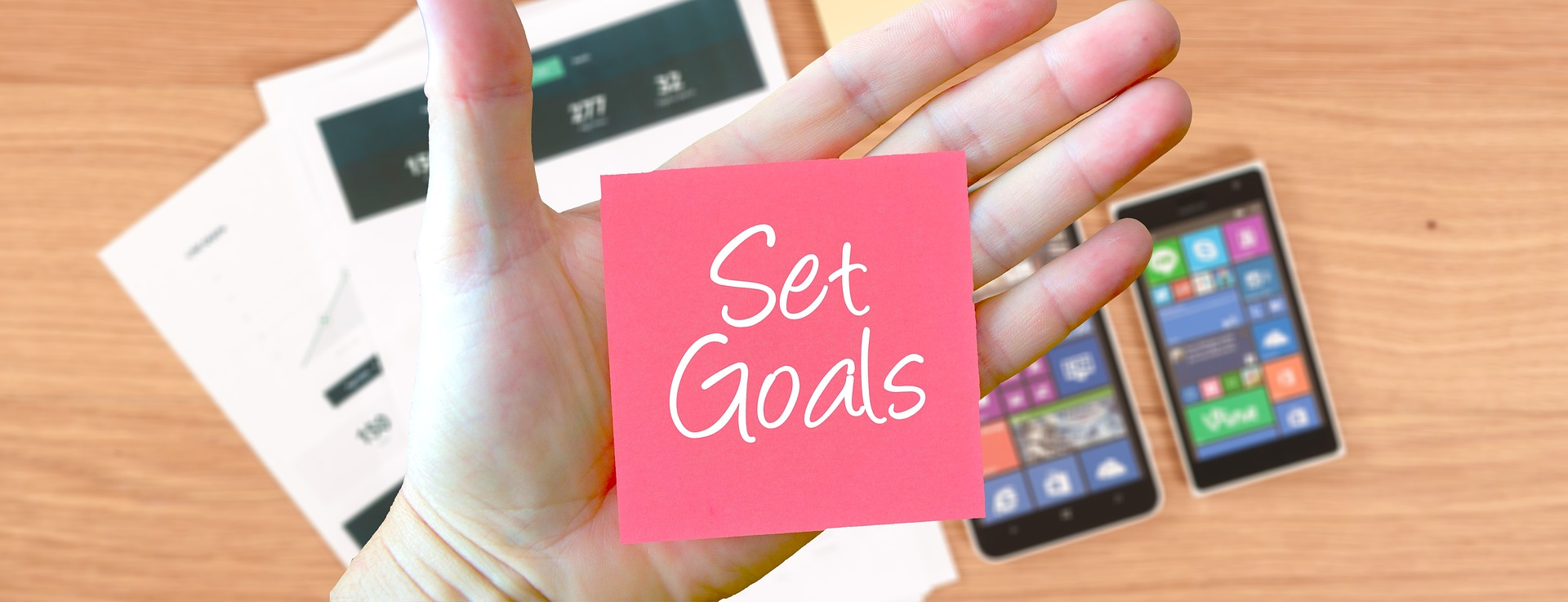 Set goals for IDD marketing success