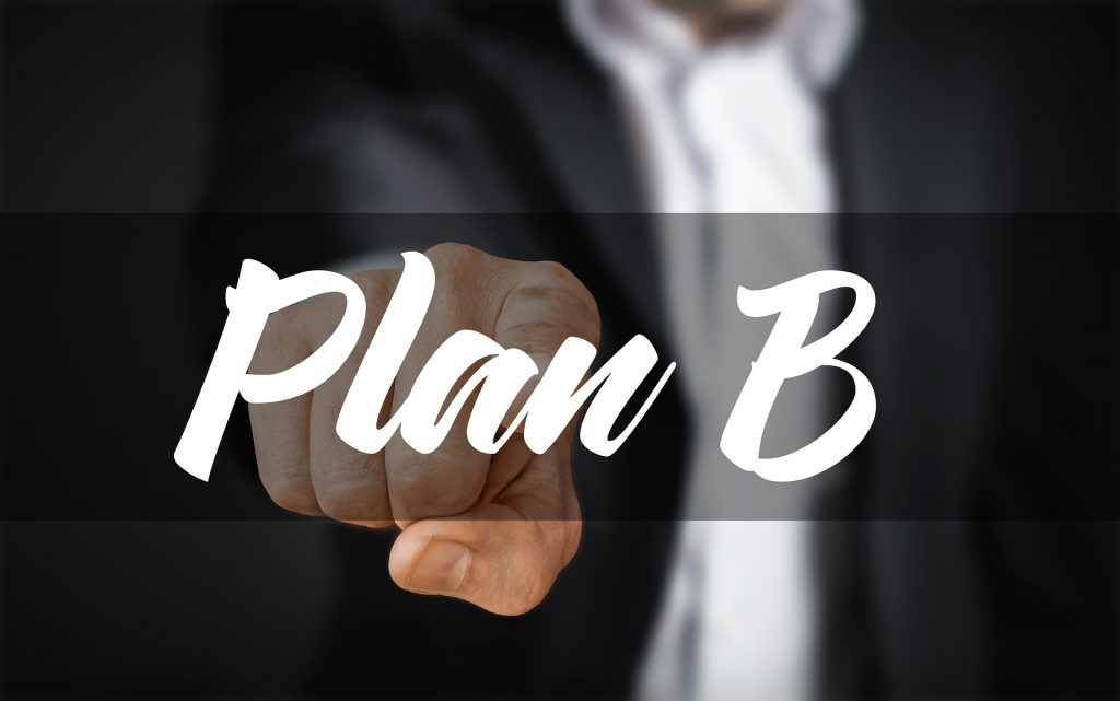 Plan B - don't rely on one vendor