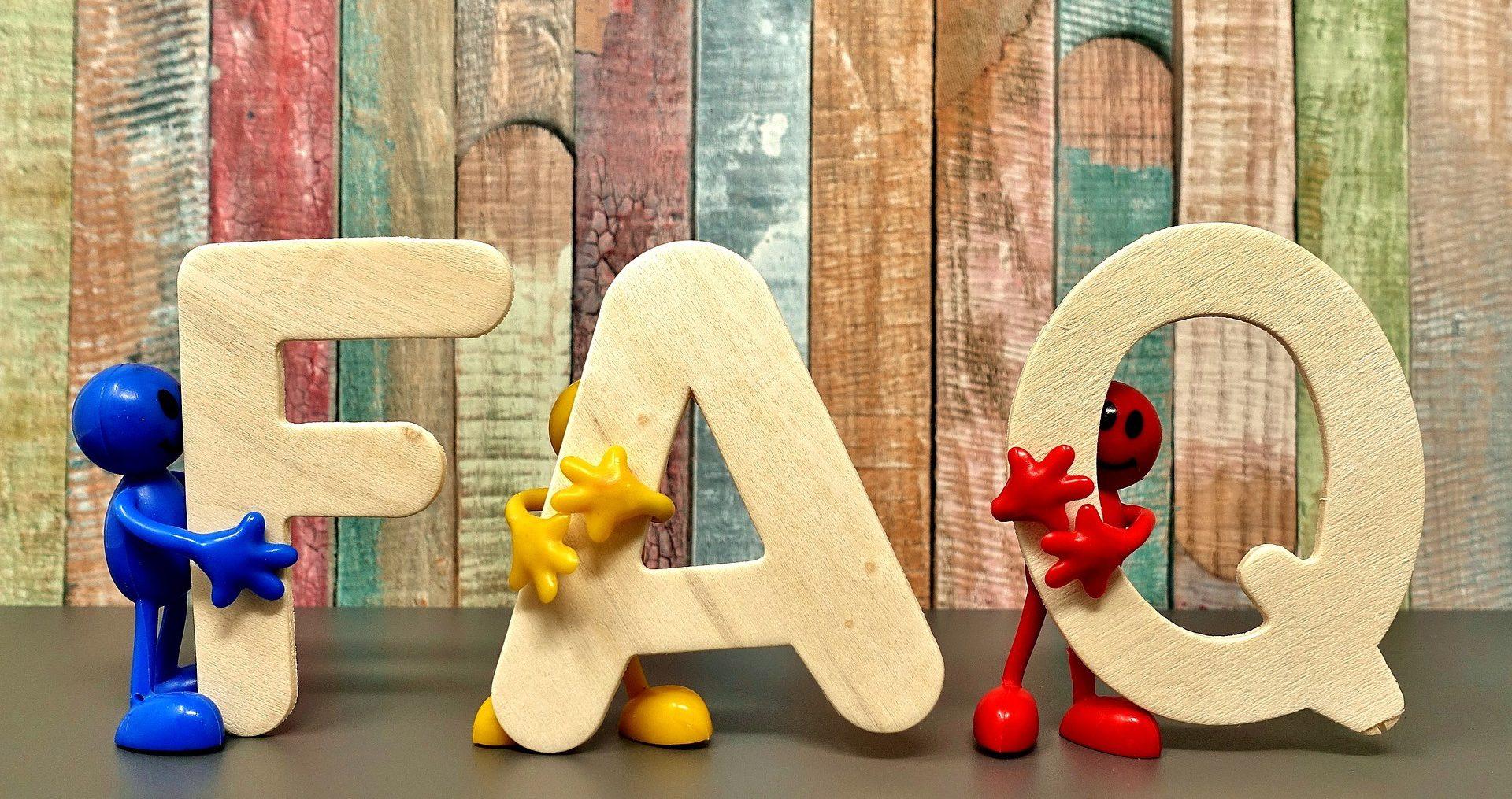 FAQ stick figures